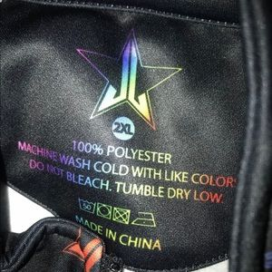 Jeffree Star Jackets & Coats - jeffree star rainbow track jacket